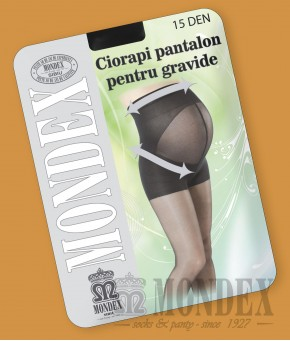CIORAPI PANTALON PENTRU GRAVIDE, 15 DEN